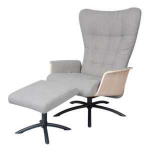 Nikka Chair with Footstool