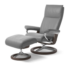 Stressless Aura Chair with Stool