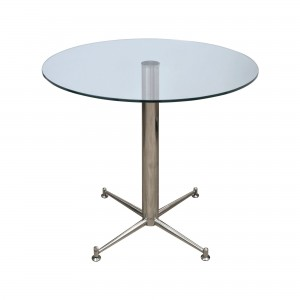 Cortina Dining Table with glass top