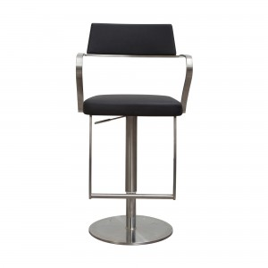 St Moritz Bar Stool in black