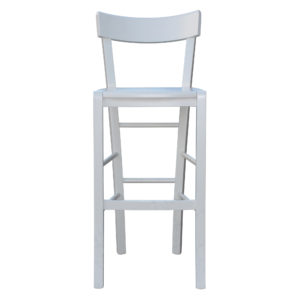 Vincennes Bar Stool in off white finish