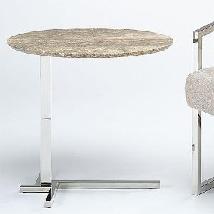 Stone International Flamingo Oval Table