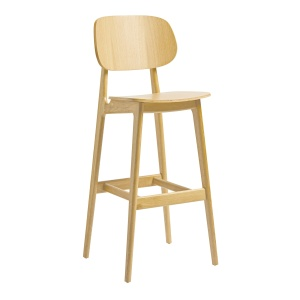Settle Oak Bar Stool