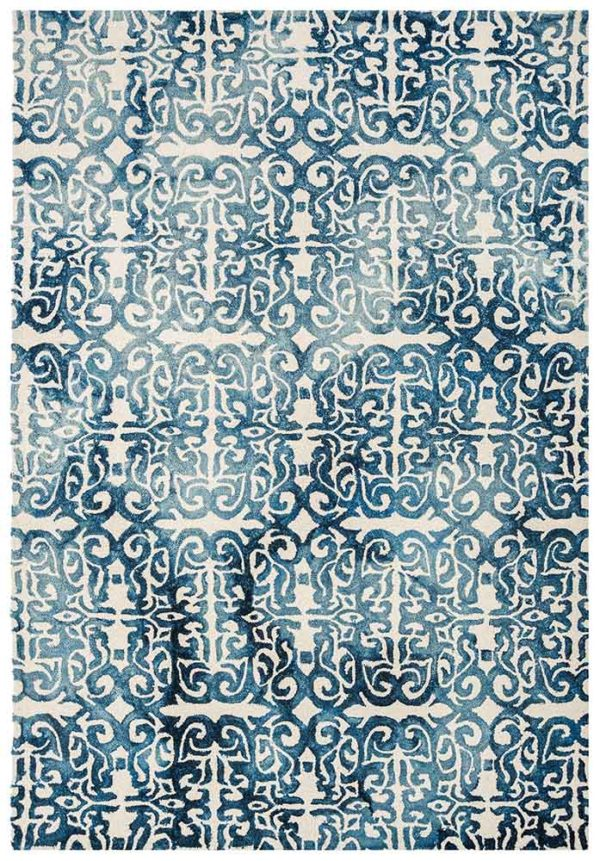 Fresco Rug in Blue