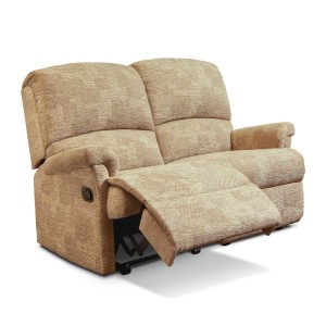Nevada Reclining 2 Seater Sofa