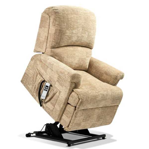 Nevada Lift & Rise Recliner Chair in fabric