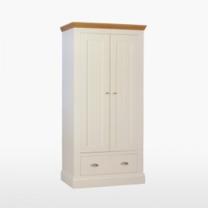 Cello Oak/Painted CL817 Narrow Ladies Wardrobe