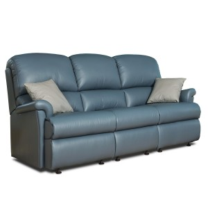 Nevada 3 Seater Sofa in leather