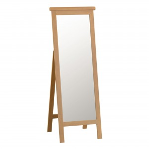Cordoba Oak Cheval Mirror
