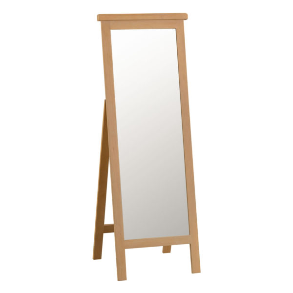 Cordoba Oak Cheval Mirror