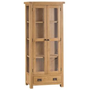 Cordoba Oak Display Cabinet