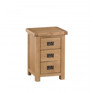 Cordoba Oak Large 3 Drawer Bedside Chest