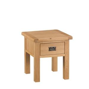 Cordoba Oak Lamp Table