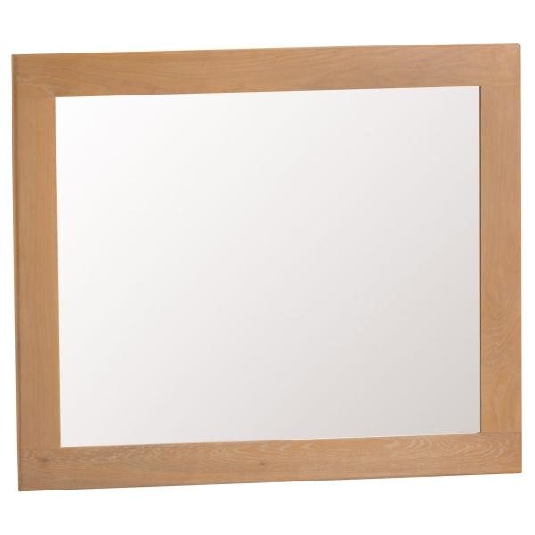 Cordoba Oak Large Wall Mirror