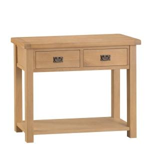Cordoba Oak Medium Console Table