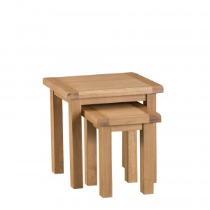 Cordoba Oak Nest of 2 Tables