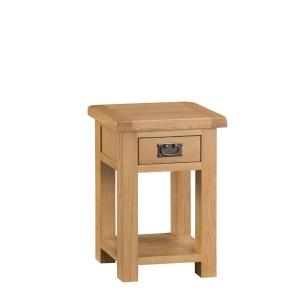 Cordoba Oak Side Table