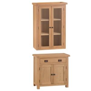 Cordoba Oak Small Sideboard and Dresser Top