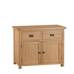 Cordoba Oak 2 Door 2 Drawer Sideboard