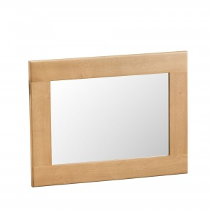 Cordoba Oak Small Wall Mirror
