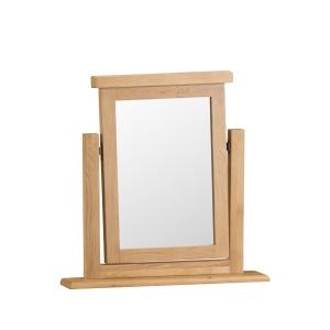 Cordoba Oak Vanity Trinket Mirror