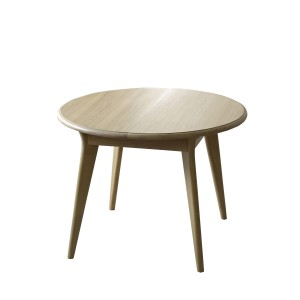 Bergen Small Round Extending Dining Table