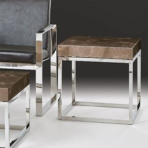 Stone International Kubo Lamp Table