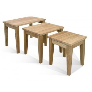 Warwick Oak Nest of Tables
