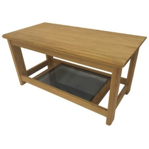 Anbercraft Kudos KUD03 Small Coffee Table in oiled oak