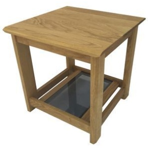 Anbercraft Kudos KUD05 Small Lamp Table in oiled oak