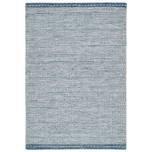 Knox rug in blue