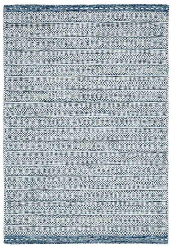 Knox rug in blue