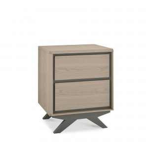 Bertie 2 Drawer Bedside Chest