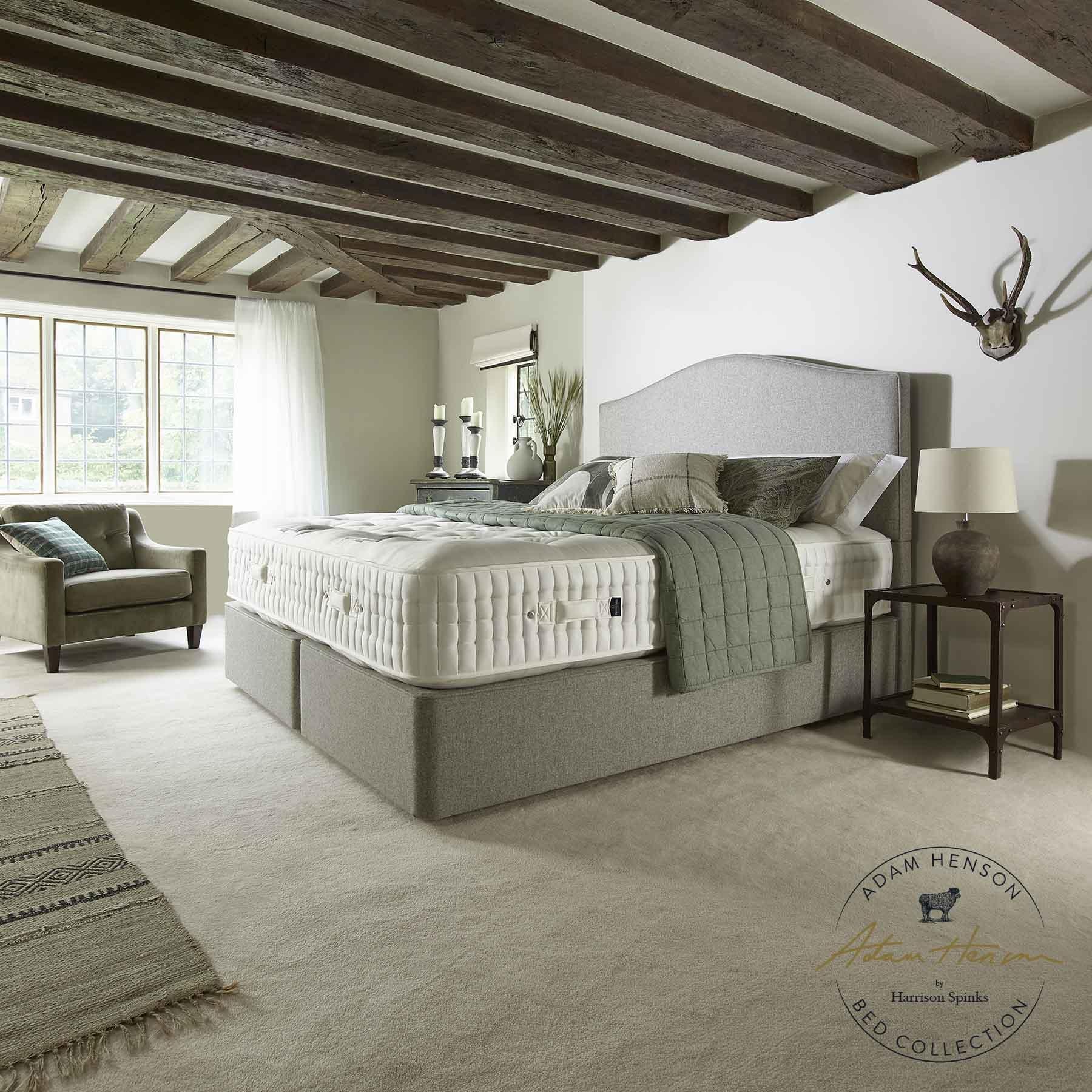Adam Henson By Harrison Spinks Burford 23800 5 0 X 6 6 Mattress Tr Hayes Furniture Bath