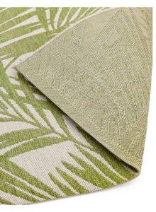 Patio PAT15 Green Palm Rug detail