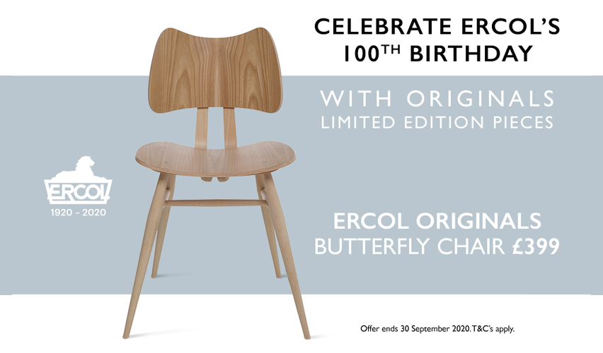 Ercol Centenary Offer