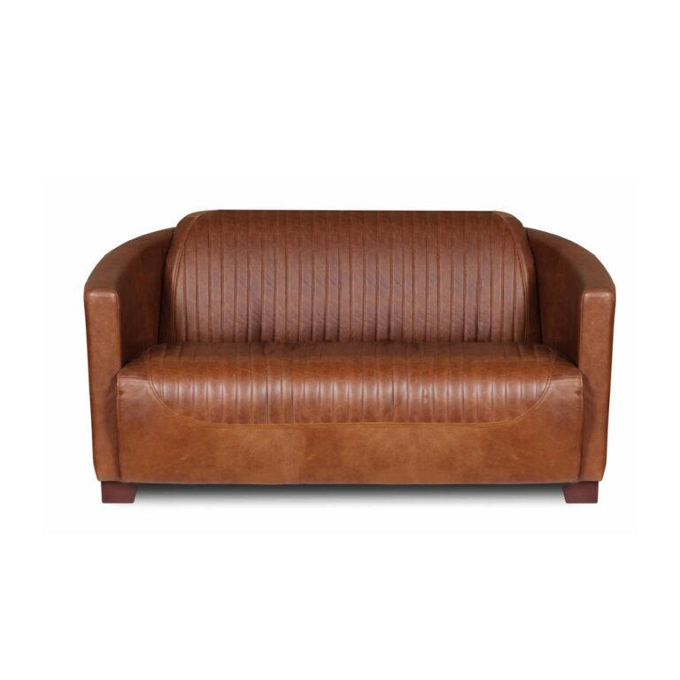 Aviator Leather Sofa