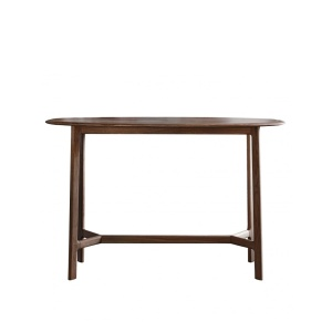 Jacobsen Console Table in walnut
