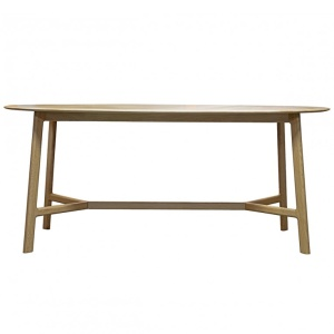 Jacobsen Oval Dining Table in oak