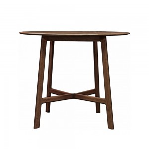 Jacobsen Round Dining Table in walnut