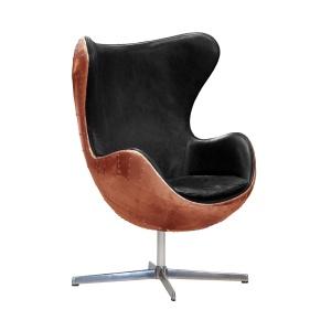 Aviator Keeler Wing Desk Chair in copper