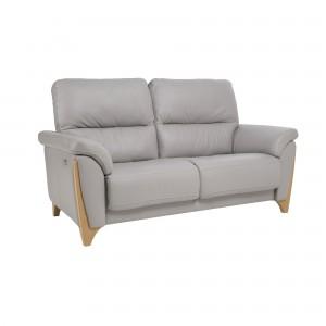 Ercol Enna Medium Recliner Sofa in leather