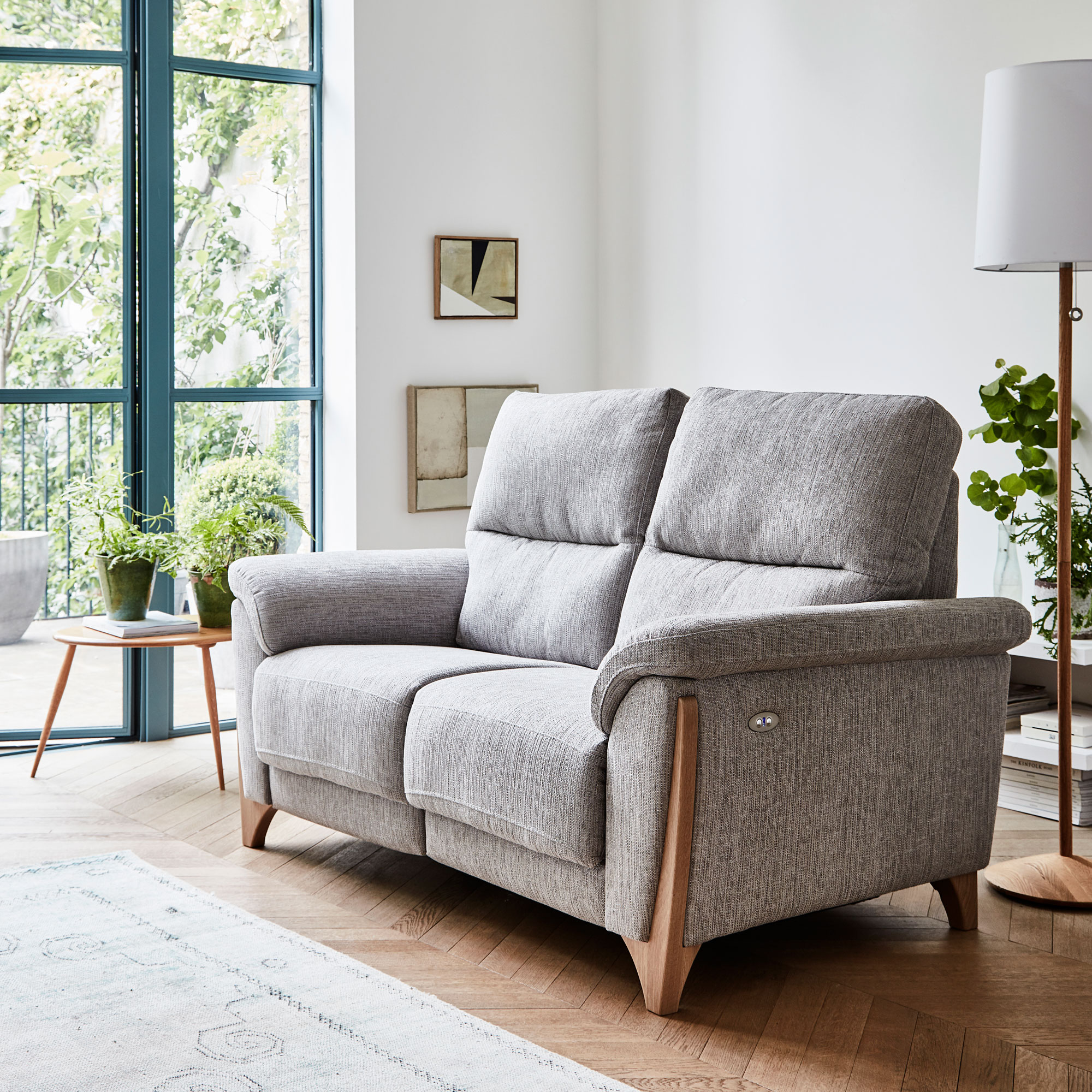 Ercol Enna Medium Sofa in fabric