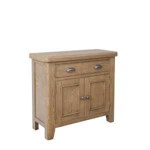 Honiton Oak 1 Drawer 2 Door Sideboard
