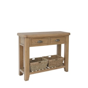 Honiton Oak Console Table