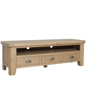 Honiton Oak Large TV Unit