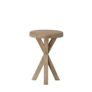 Honiton Oak Round Side Table