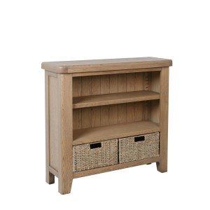 Honiton Oak Small Bookcase