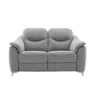 G Plan Jackson 2 Seater Sofa with metal feet