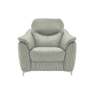 G Plan Jackson Armchair with metal feet in fabric